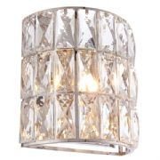 Verina Wall Light in Polished Chrome and Crystal Decoration - ENDON 76515